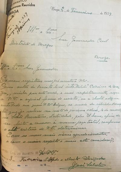 1939 carta