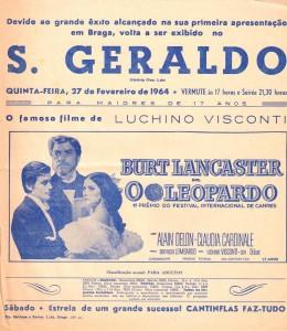 CINEMA S. GERALDO, O Leopardo