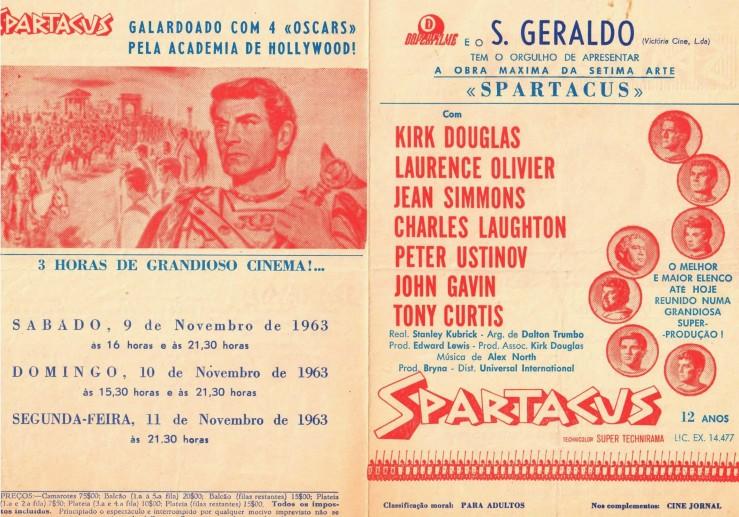CINEMA S. GERALDO, Spartacus (2)